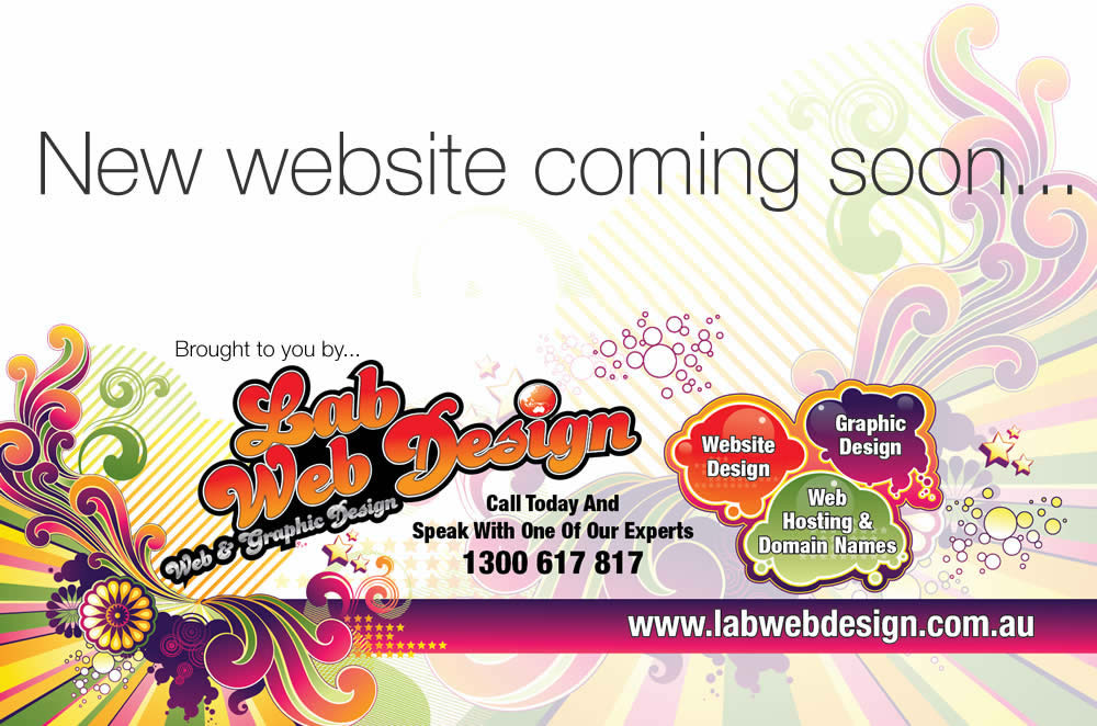 New Website Coming Soon from LAB Web Design